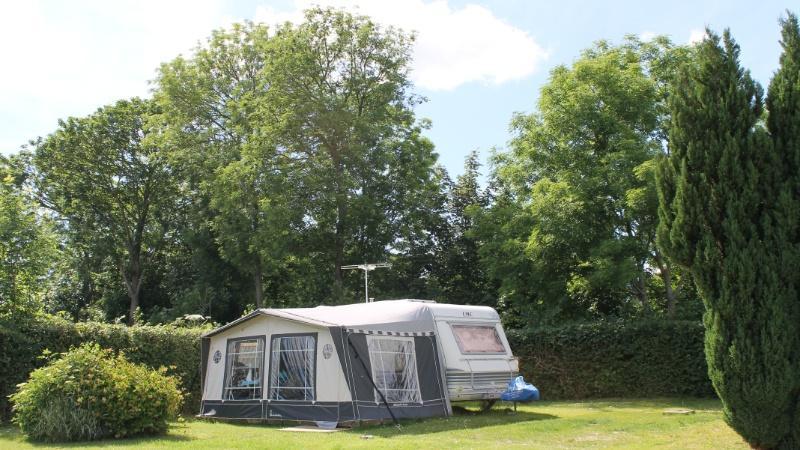 campingvogn på campingplads møn