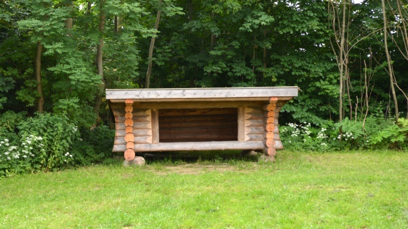shelter campingplads møn