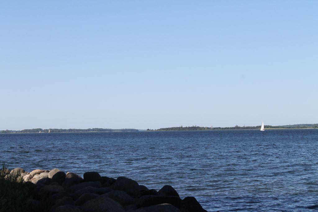 Ulvsund - Storstrømmen - med udsigt til Langø, Tærø og Bogø